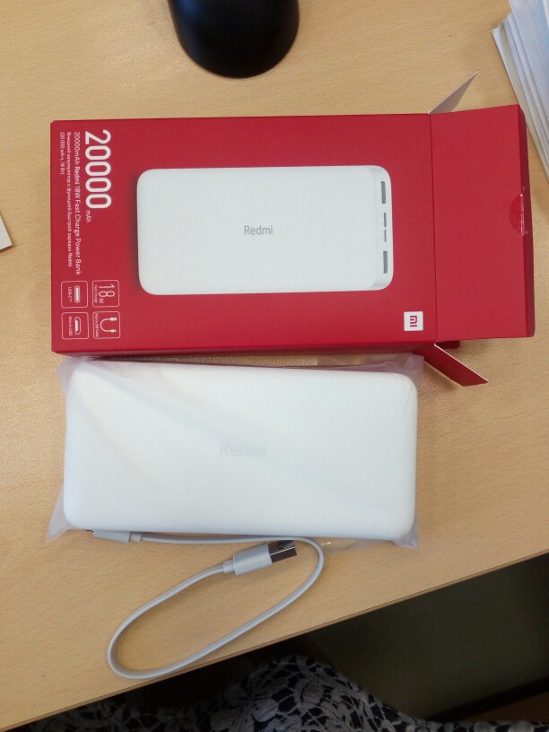 Potable External Battery 20000 mAh Xiaomi Redmi Power Bank 10000 mAh Xiaomi Redmi Power Bank Fast Charge free shipping|Power Bank|   - AliExpress