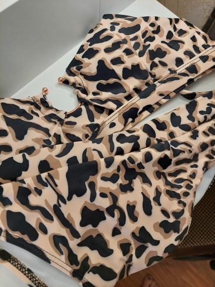 INGAGA High Waist Bikini Push Up Swimsuits Leopard Women's Swimwear 2021 Brazilian Bikini Set Biquini Sexy Bathing Suit Women|Bikini Set|   - AliExpress