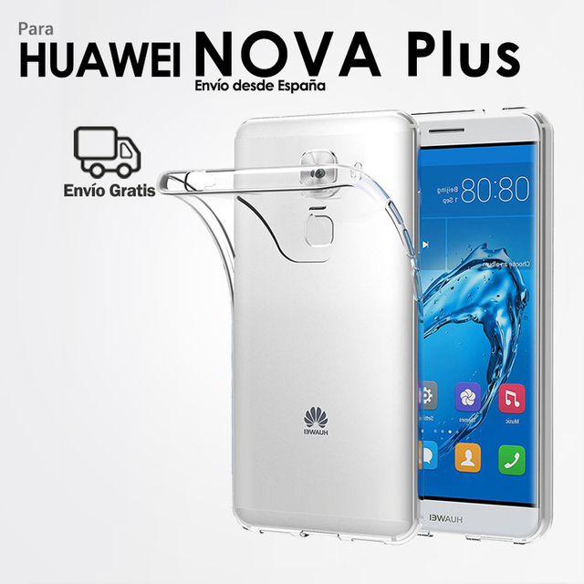 TPU Gel Case Silicone Case for Mobile Huawei Nova Plus Back Cover Transparent Ultra Slim Soft for Smartphone