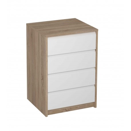 Chest Of Drawers For Wardrobe 4 Drawers Various Colors Bezel.