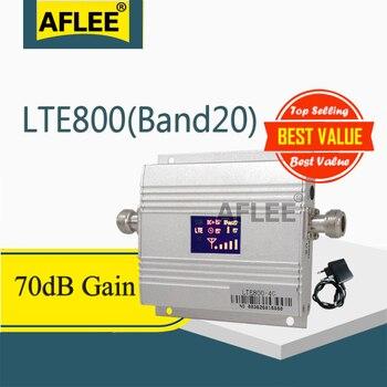 1 Pcs Band20 Lte 800Mhz 4G Netwerk Mobiele Signaalversterker 800Mhz 4G Mobiele Telefoon Versterker 4G Cellulaire Signaal Repeater Gsm 4G