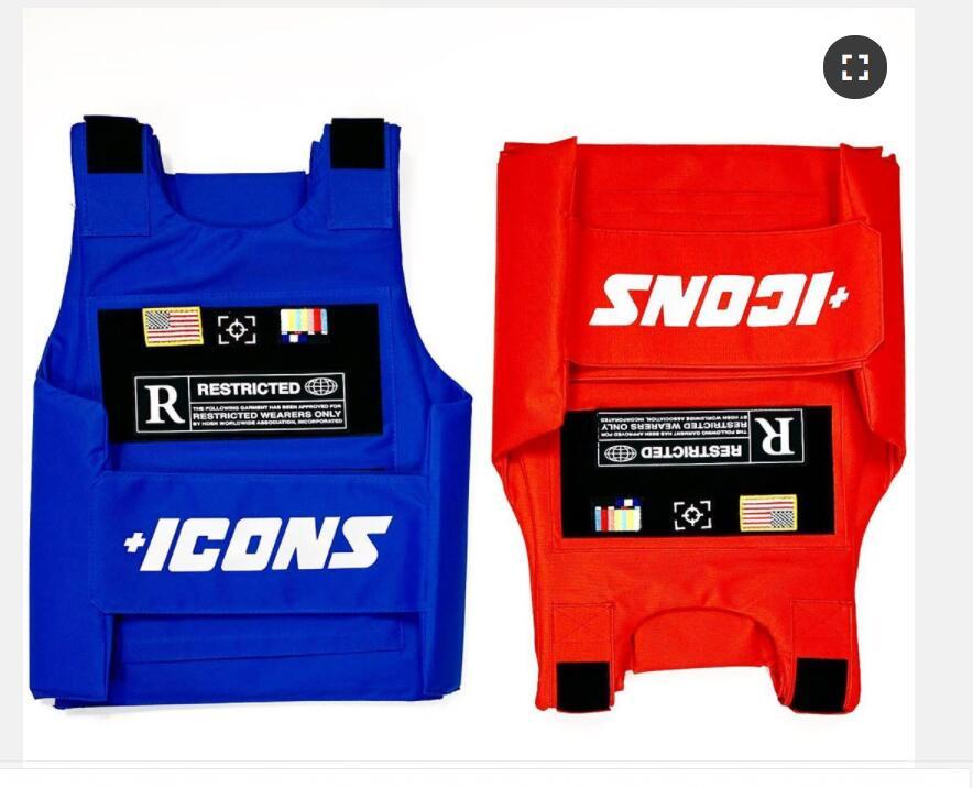 Vests Icon gilet Trending CS Vest Tactical military hiphop rapper FASHION VEST Outerwear Men's Fashion Tactica ICONS jacket vest 4