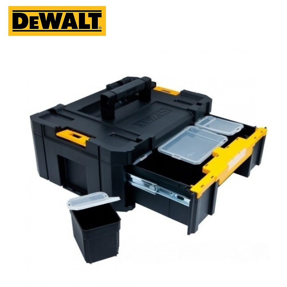 Tool Box DEWALT TSTAK, (TSTAK III) DWST1-70705 Tool Box Deep To Put Tools Storing Tools The Order In Tools