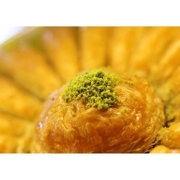 Gulluoglu marchewka plasterek baklawa z pistacją świeżo wyprodukowana turecka baklawa 560 GRAM wolna SHİPPİNG wolna SHİPPİNG tanie i dobre opinie Mężczyzna DE (pochodzenie)