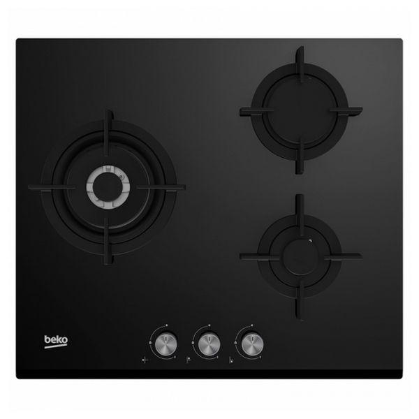 Gas Hob BEKO HISW6322SO 60 cm (3 Stoves)|Cooktops| |  - title=