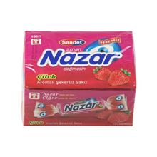 Nazar Strawberry Flavored Chewing Gum 100 Pieces   FREE SHİPPİNG