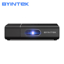 BYINTEK U30 Pro 3D Android przenośny Mini inteligentny Beamer 300 calowy Full HD 1080P projektor Proyector dla Smartphone 4K kino tanie tanio Automatyczna korekcja Korekcja ręczna CN (pochodzenie) 16 09 X2 0 400 ANSI lumens 858x600 dpi 400ANSI 30inch-200inch 1000 01 00