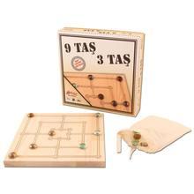 Morris Three-juego de estrategia de 9 piedras para hombre, juego de estrategia de madera Natural, 28 cm X 28 cm, piedras de madera y citrino
