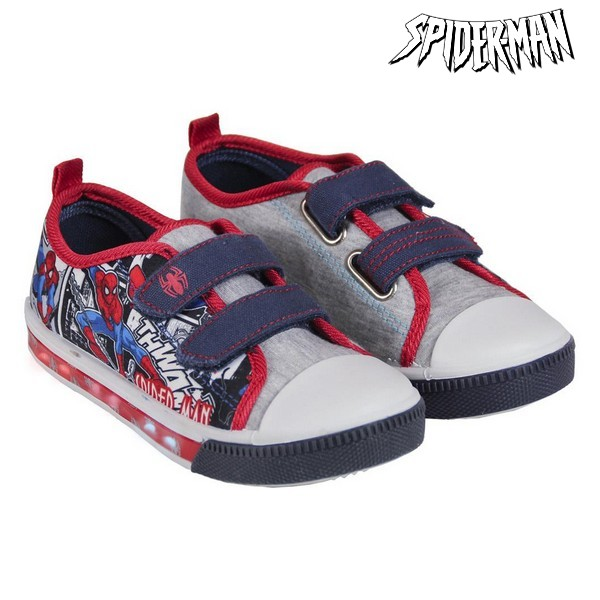 Casual Shoes With LEDs Spiderman 72444