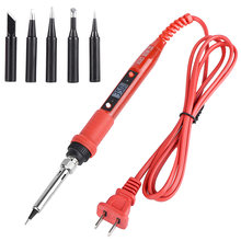 Jcd 909 908s lcd Электрический паяльник Комплект для утюгов