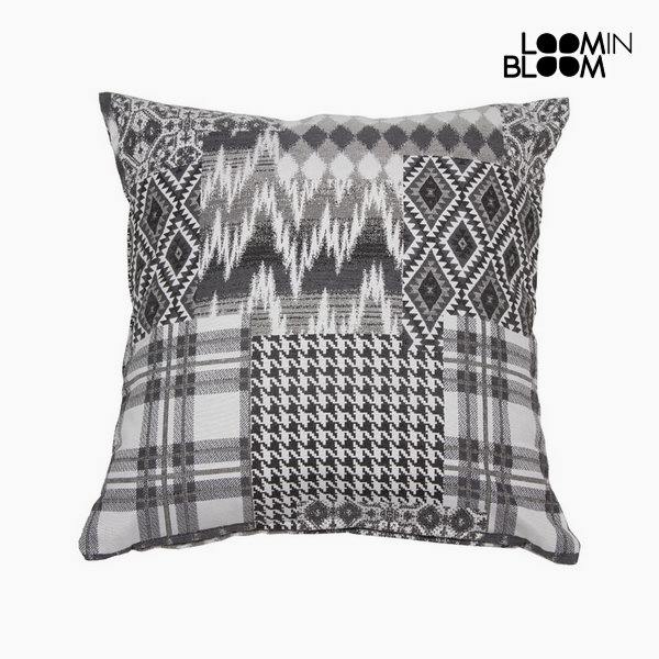 Cushion (45 X 10 X 45 Cm) Cotton And Polyester Black