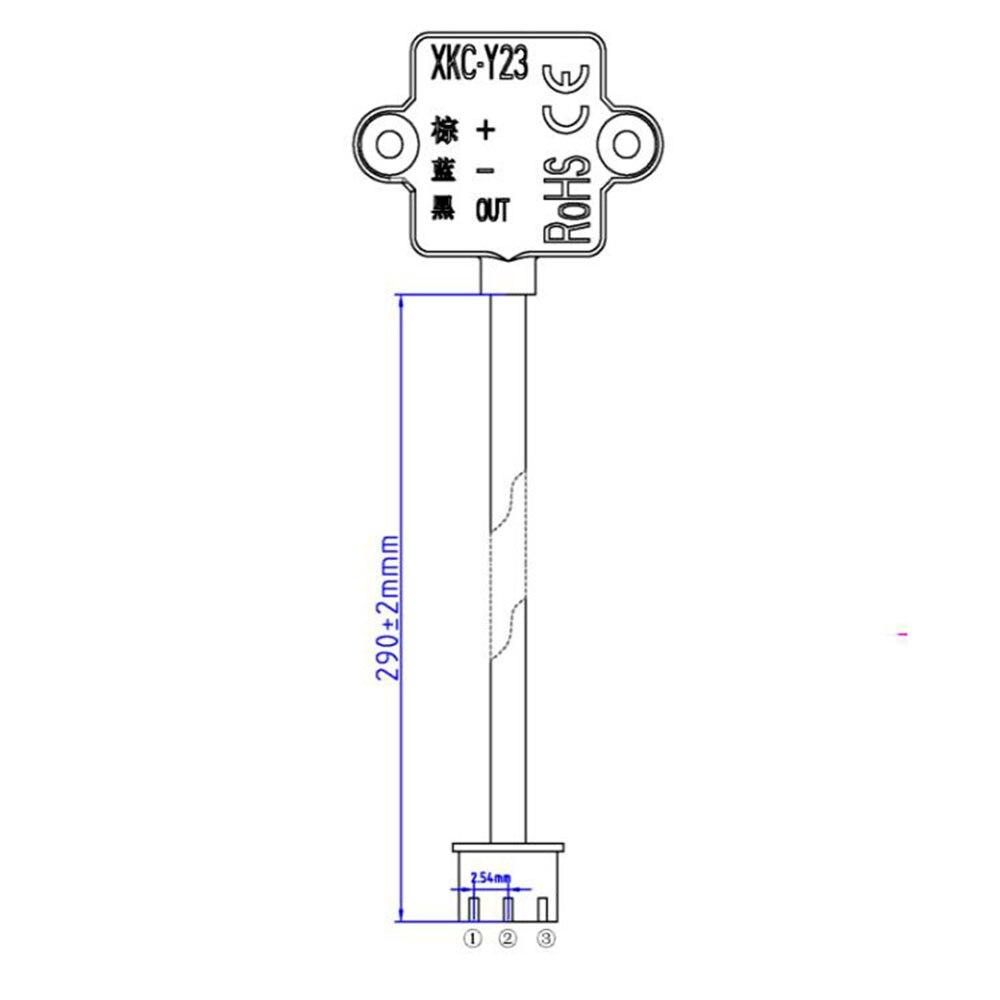 Купить с кэшбэком Taidacent DIY Electronic Water Level Sensor Water Tank Fish Tank Water Leak Detector Liquid Level Gauge Detection Alarm Switch