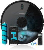 Cecotec Robot Aspirador Conga 6090 Ultra. Láser, Potencia succión 10000 Pa, App, Sensor Óptico, Virtual Voice, 10 Modos Limpieza