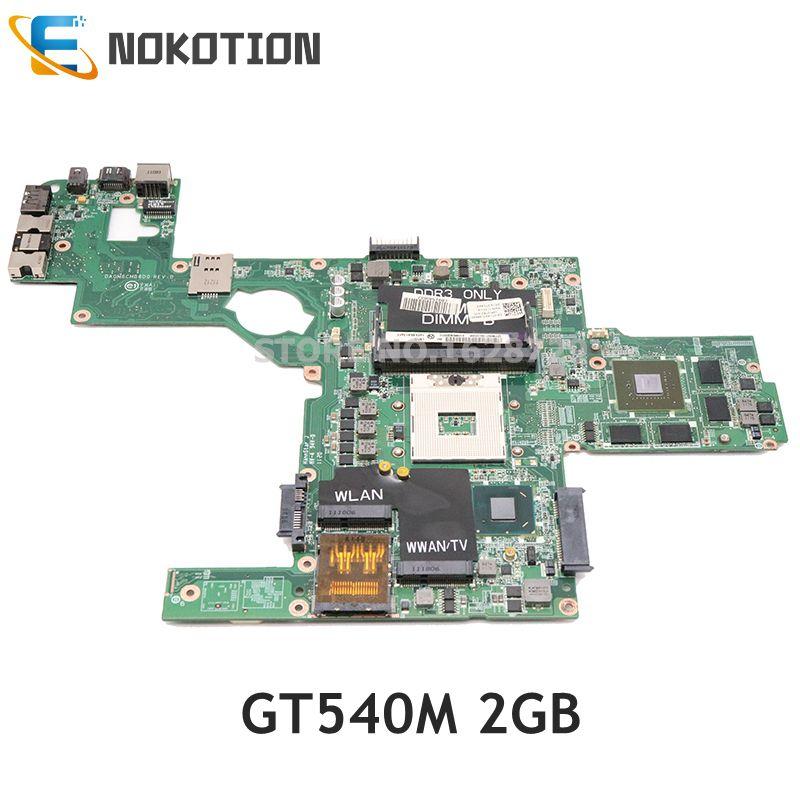 NOKOTION CN-0714WC 0714WC DAGM6CMB8D0 для Dell XPS L502X Материнская плата ноутбука HM67 DDR3 GT540M 2G graphicsc