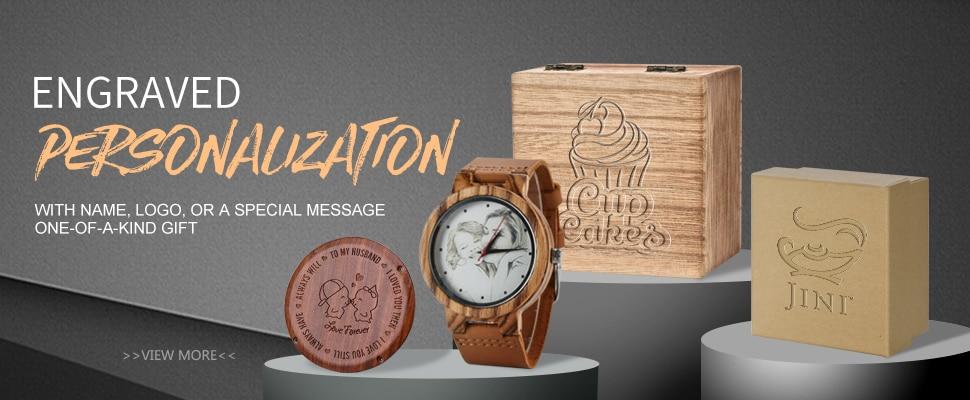 U1e65ed67083a43ba9579895032c5b9d1I Relogio Masculino BOBO BIRD Mechanical Watch Men Wood Wristwatch Automatic Customized Gift for Dad