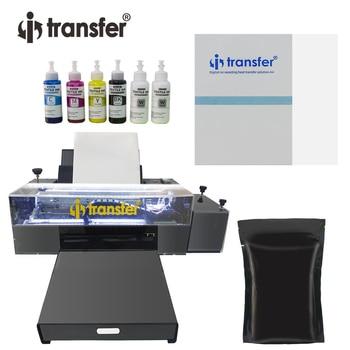 White Ink Circulation Stirring System DTF Printer PET Film Textiles Ink Hot Melt Powder Transfer Printing DTF A3 Printers Kit 1