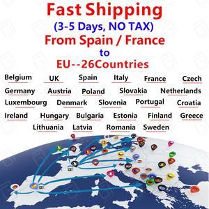 Image 2 - X96Mini אנדרואיד תיבת 2G/16G WIFI 4K חכם תיבת משלוח ספינה מצרפת ספרד רק תיבה אין ערוצים כלול