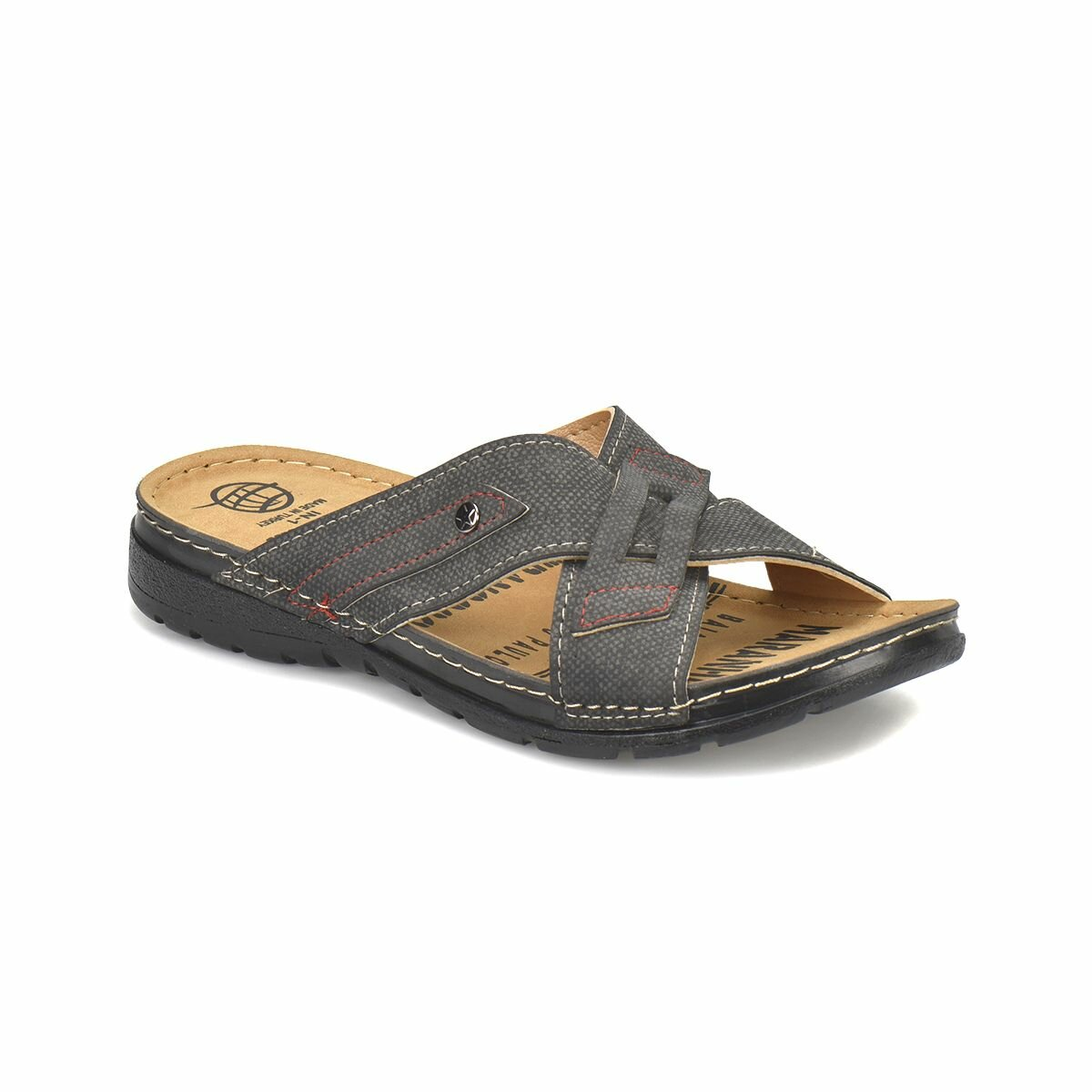 IN FLO-1 Navy Blue Male Slippers Panama Club