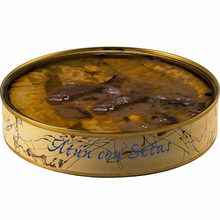 Tuna Ventresca can with mushrooms in olive oil 280 grams | Fish preserves El Ronqueo | gourmet preserves