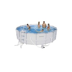 Round pool With Sewage Metallic Structure Ø488x122 cm.