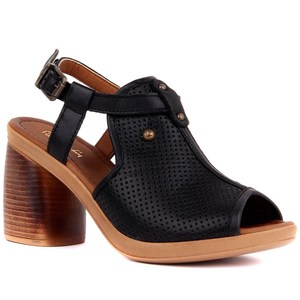 Image 3 - פייר קרדן אמיתי עור נשים סנדלי קיץ נוח סיבתי נעלי אישה בוהן ציוץ עקבים גבוהים תחתון אופנה אמא גבירותיי סנדלי Sandalias Mujer גודל 36 40 2019 חדש
