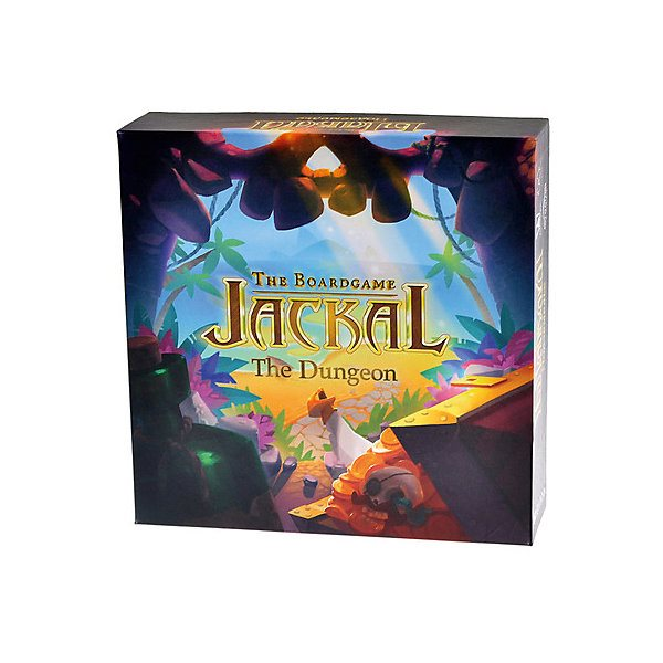 Board Game Jackal. Dungeon