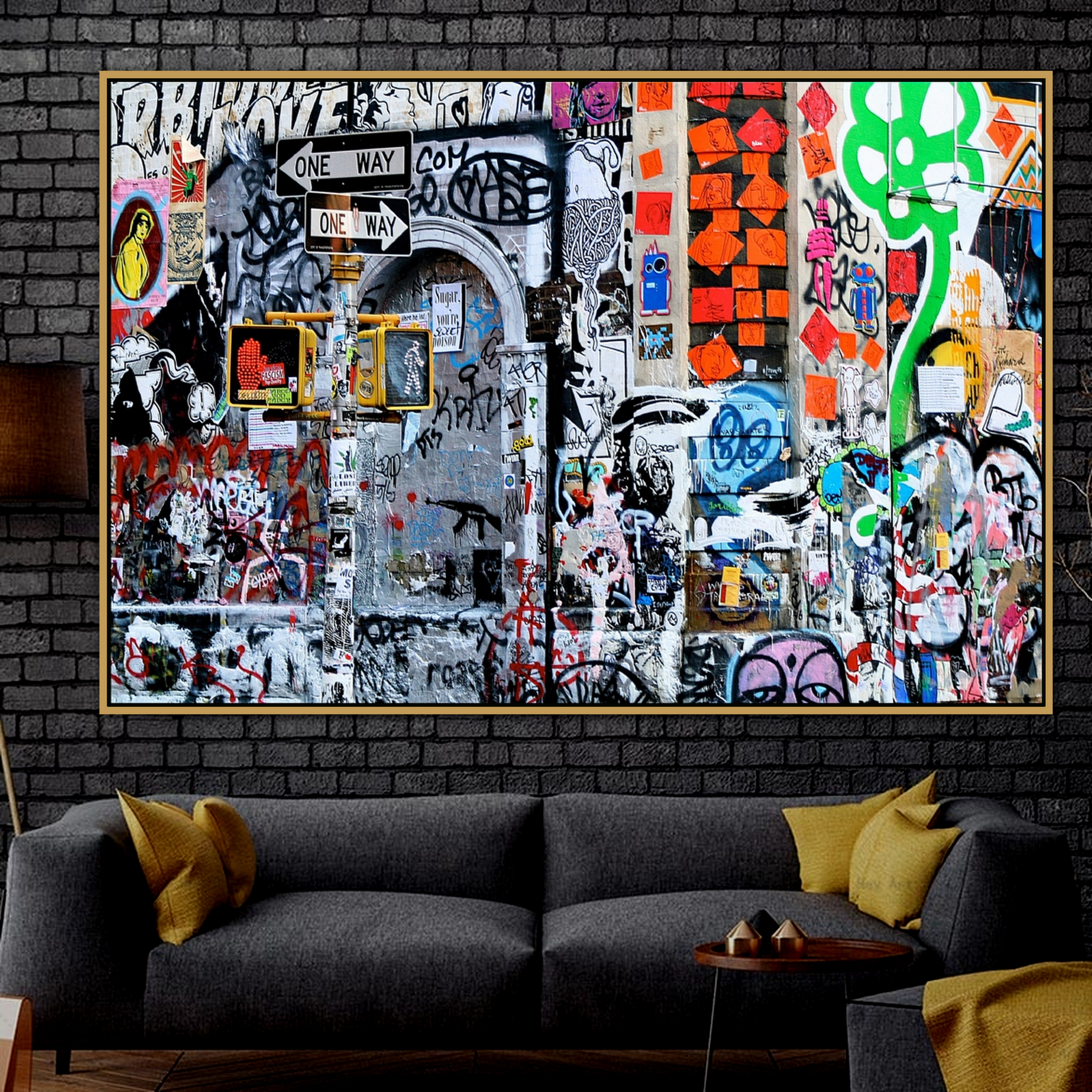 Abstract Urban Street Art Graffiti Wall Art Poster Wall Photo Pictures Wall Art Living Room Wall Decor Painting Canvas Print Painting Calligraphy Aliexpress