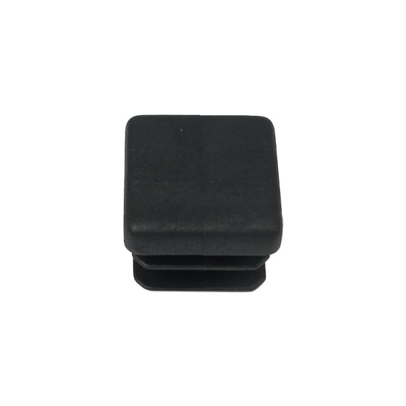 Cone Square Black 20x20mm. Blister 4 PCs.