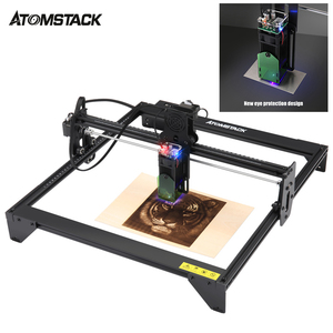 ATOMSTACK 20W Laser Engraving Machine CNC Router Desktop DIY Engraver New Eye Protection Design 410*400mm Work Area GRBL Control