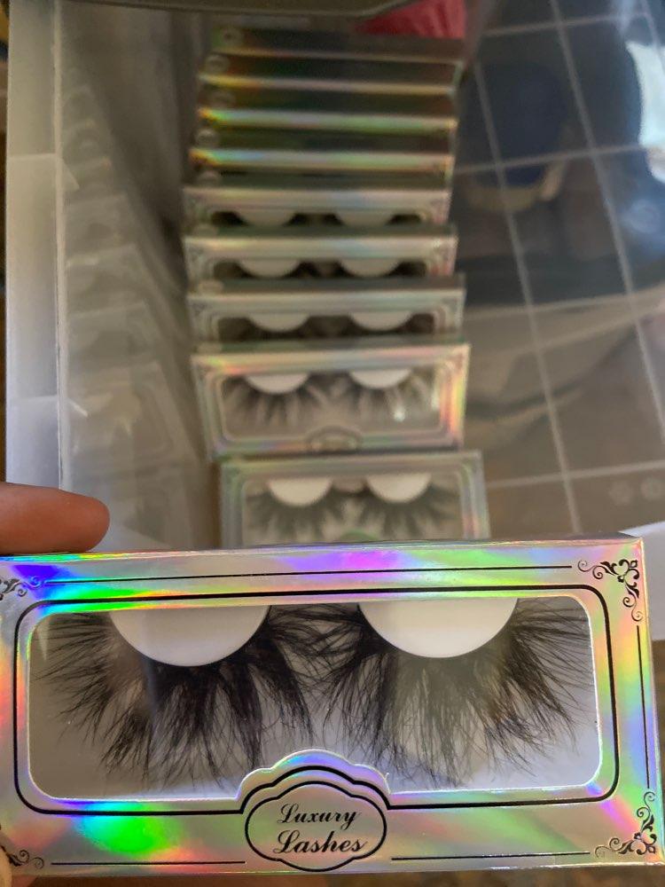 Mikiwi 25mm Mink False Eyelashes 25/50/75/100 pc Wholesale 3D Mink Lashes big white tray  Label Makeup Dramatic Long Mink Lashes