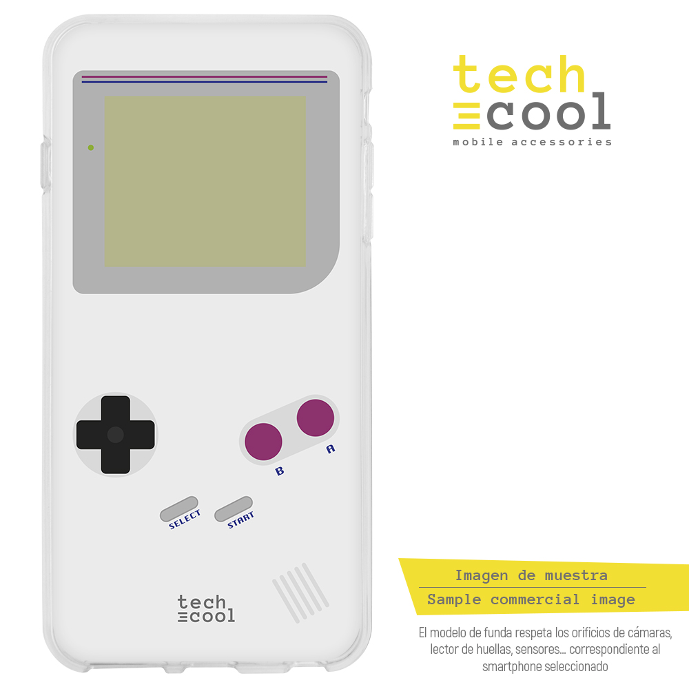 FunnyTech®Silicone Case skin cover for LG K8 2017 L Game Boy image