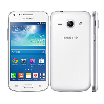 Smartphones Samsung Galaxy G3502 GPS 4.3inch 4GB ROM 3G WCDMA Unlocked Cheap Android Cell Phones 5.0MP Dual Sim Mobile Phones 1