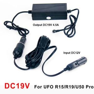 Image 3 - BYINTEK adaptador de corriente Auto coche vehículo, DC12V/19 voltaje, 19 V para UFO R15 R19 U50 y 12V para UFO P12 P20 U30