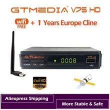 DVB-S2 Gtmedia V7S HD 1080P Digitale Rezeptor DVB-S2 Satellite Receiver Tv Tuner HD Box Cline Decoder Biss VU PVR wiFi Freesat v7