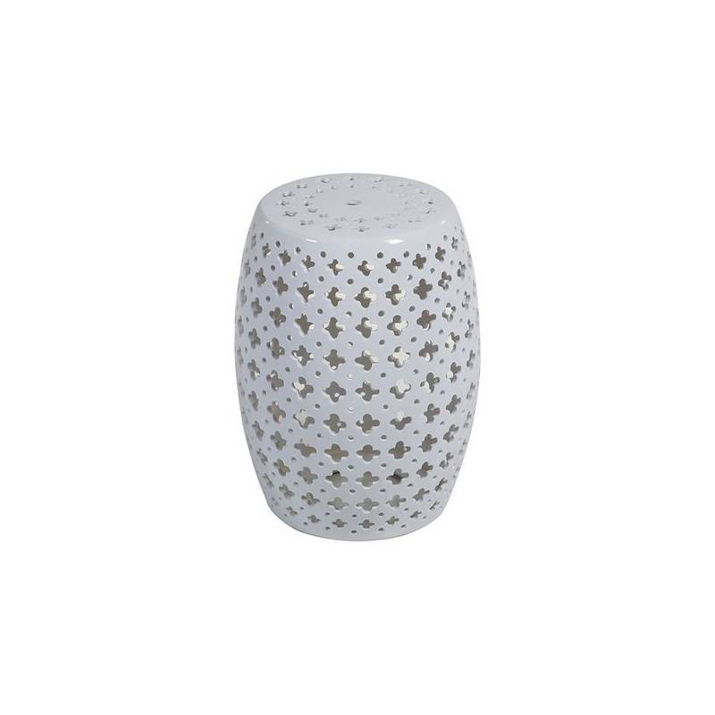 Side Table (33x33x45 Cm) Ceramic