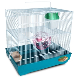 Cage triol 4101K pour rongeur, 39,5 -29, 5-37 cm.