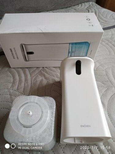 Бесконтактный дозатор мыла Xiaomi Mijia ENCHEN. Фотографии покупателей