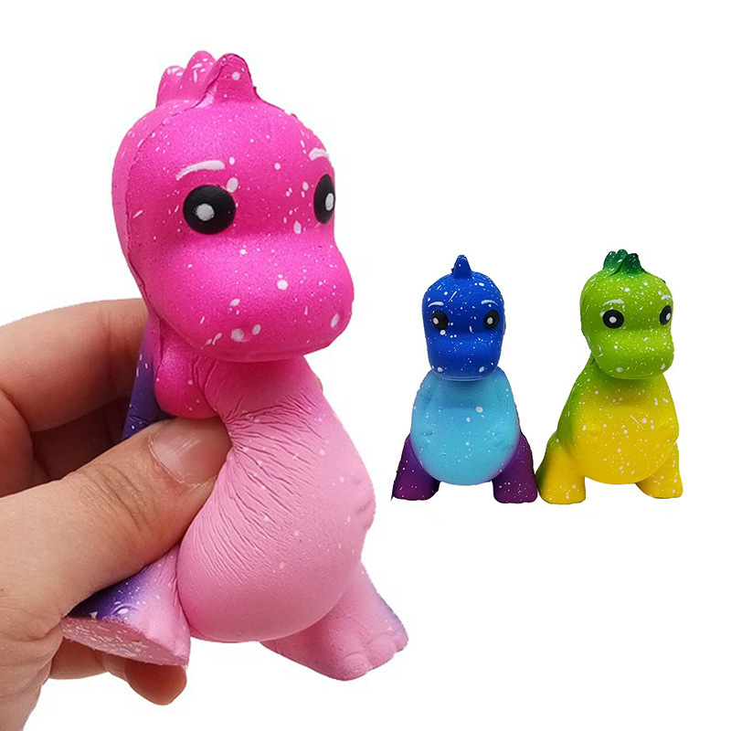 Cute New Fashion Funny Squishy Slow Rising Dinosaur Toys Stress Reliever Squeeze Toys Collection