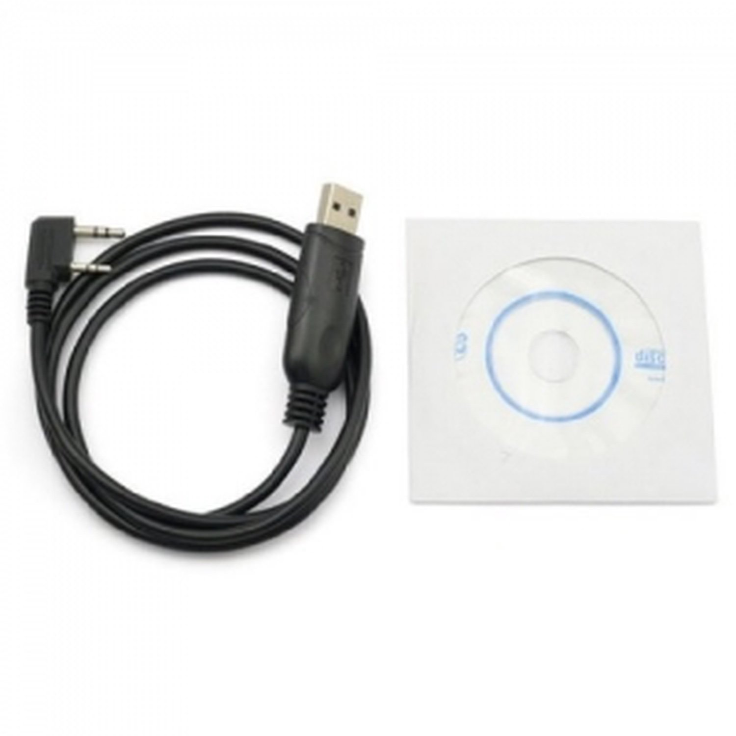 USB Cord + CD Programming For Station WALKIE TALKIE Baofeng