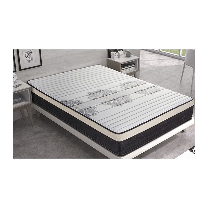 Matris-Mattress Viscoelastic Afrodisiac Comfort Height 26 Cm +/-2 Mattresses Visco All Appropriate