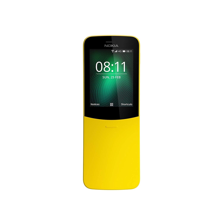 Nokia 8110, couleur jaune (jaune), écran 2.45
