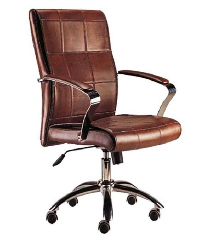 Armchair Dispatch Rotating Colonial Brown