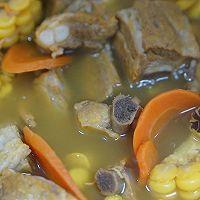 虫草花玉米排骨汤的做法图解6