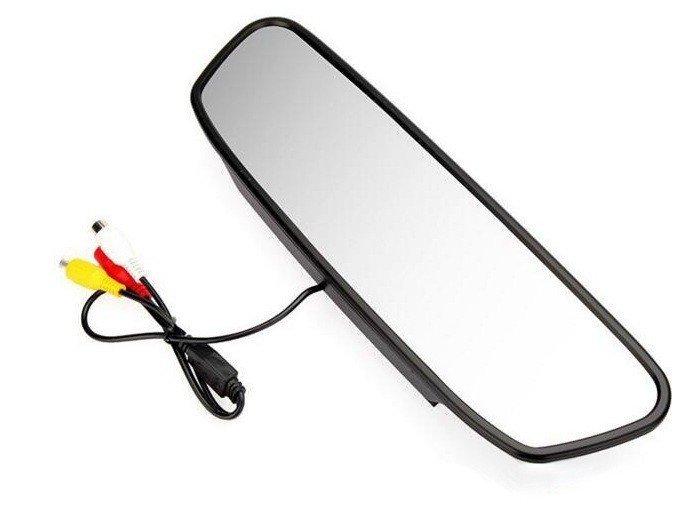 Зеркало монитор для камеры заднего вида СХ 500 5 HD Автомобильный дисплей обратное изображение помощь при парковке заднего вид - 2