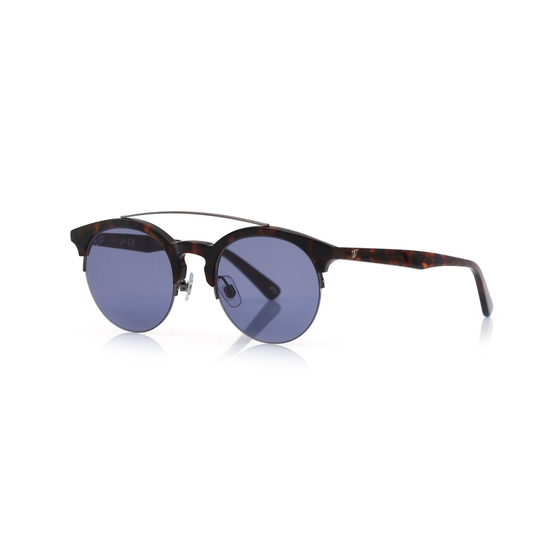 Unisex sunglasses w 0192 52v bone Brown organic oval aval 49-22-145 web