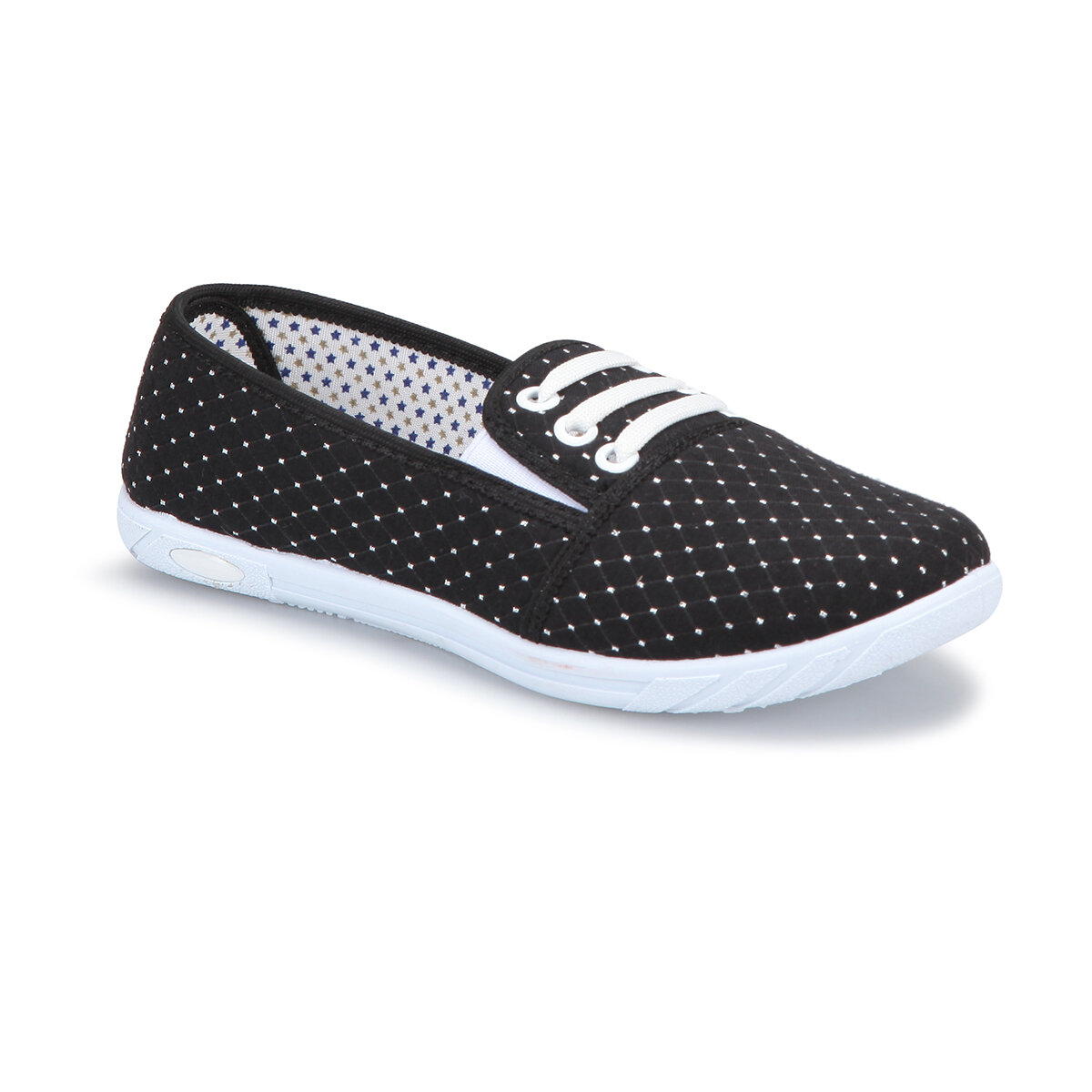 FLO 71. 354989.Z Black Women Slip On Shoes Polaris