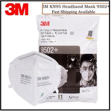 50 sztuk worek 3M 9502 + 9501 + KN95 cząstek stałych maska przeciwpyłowa Respirator pałąk Anti-haze maski ochronne 3M oryginalna maska tanie tanio Chin kontynentalnych GB2626-2006 Włókniny 9502+