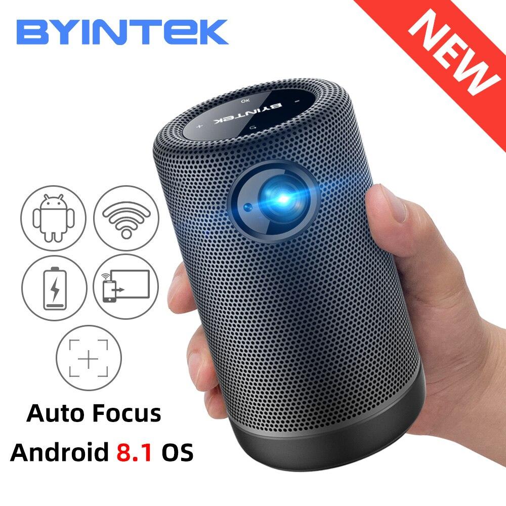 BYINTEK P30 Карманный Портативный Смарт Android WIFI Full HD 1080p ТВ видео светодиодный DLP Мини проектор для 4K кинотеатра смартфона
