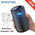 BYINTEK P30 Карманный Портативный Смарт Android WIFI Full HD 1080p ТВ видео светодиодный DLP Мини проектор для 3D 4K кинотеатра смартфона