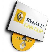 Renault software de diagnóstico pode clipe v205 + reprog v191